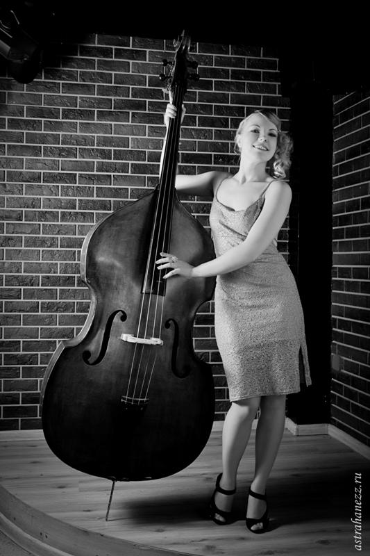 Вы просматриваете изображения у материала: Фотосессия В джазе только девушки, фотограф Михаил Калинин